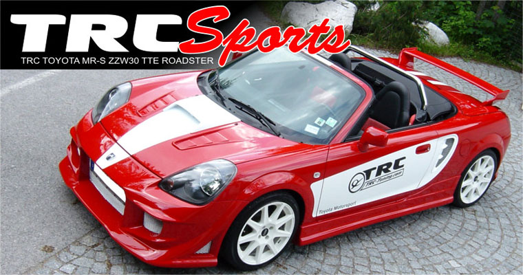 TRC Tuning Toyota MR-2 W3 TTE Roadster